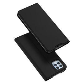 Xiaomi Redmi Note 10 Pro Bookcase Hoesje Zwart - Dux Ducis (Skin Serie)