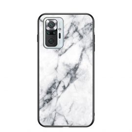 Xiaomi Redmi Note 10 Pro Hoesje Wit Marmer - Cacious (Marble Serie)