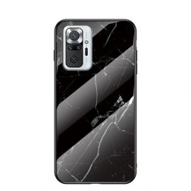 Xiaomi Redmi Note 10 Pro Hoesje Zwart Marmer - Cacious (Marble Serie)