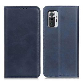 Xiaomi Redmi Note 10 Pro Portemonnee Hoesje Blauw - Cacious (Wallet Serie)