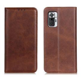 Xiaomi Redmi Note 10 Pro Portemonnee Hoesje Bruin - Cacious (Wallet Serie)